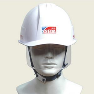 보안경겸용안전모